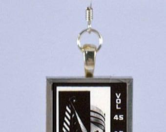 New Yorker Magazine Earring - 45 42 Guggenheim and Ties