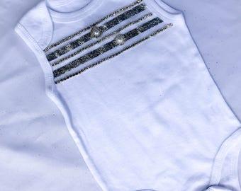 Silver lining bodysuit