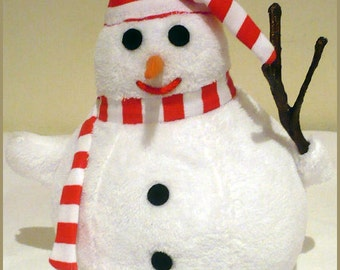 Bill, the snowman - hand puppet