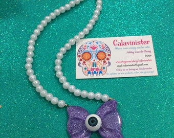 Creepy Sweetie Necklace: Lavender