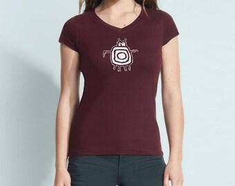 Gordito V-neck T-shirt for Women