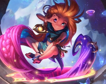 League of legends Zoe cosplay costume