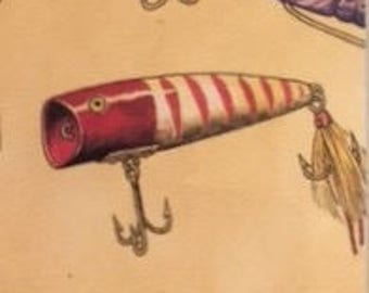 "Bookmark   ""Lures"" (fishing hunting nature outdoors)"