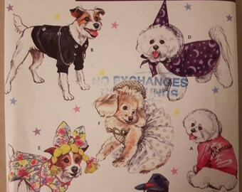 Simplicity 4000, Dog Costumes Pattern