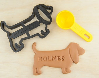 Basset Hound Dog Cookie Cutter Dog Custom Treat Personalized Pet