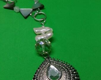 White Goddess Necklace