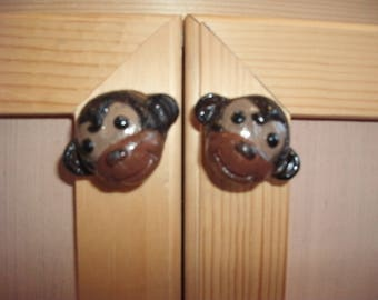 Monkey Drawer and Cabinet Knob
