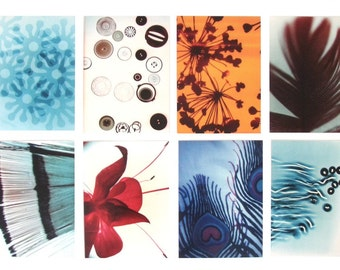 Postcards : Eight original designs by Red Ruby Rose