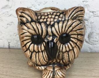 Triple Owl Planter