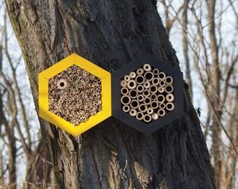 BEE HOTEL, Insect house, Mason bee home - Grandhotel Honeybee