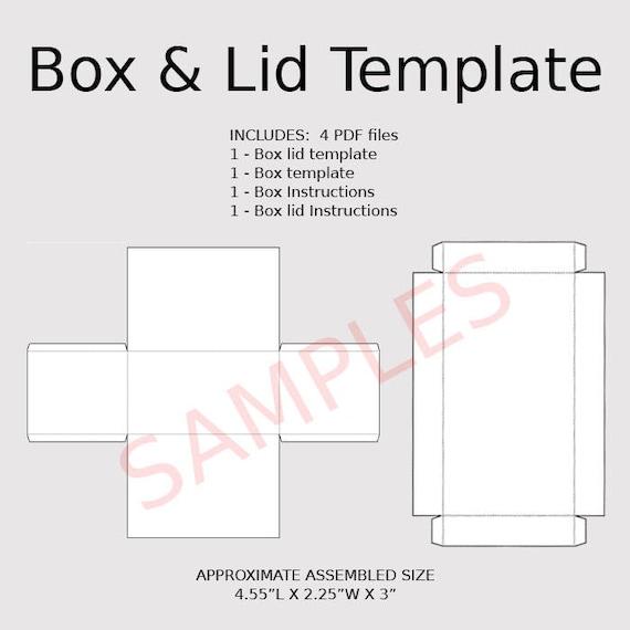 rectangle box template with lid koni polycode co