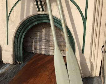 Vintage Wood Oars