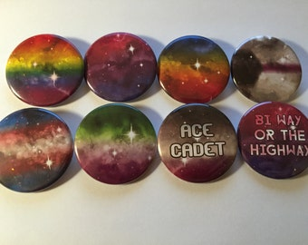 Cosmic Pride Buttons