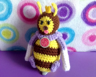 Honey Queen Amigurumi Plush