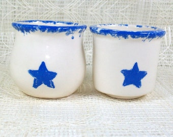 Ceramic Candle Holders | Star Candle Holders | White Candle Holders | Candle Accessories | Votive Candle Holders | Handmade Candle Holders