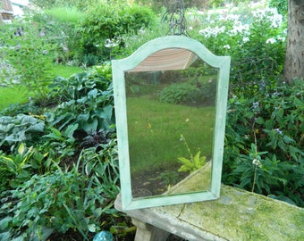 Vintage Hanging Framed Mirror