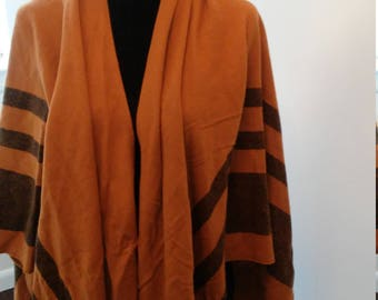 On Sale Brown poncho cape One Size Fits All