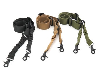 AK Tactical 2 Point Bungee Sling Strap 3 Colours for Nerf Modify Toy