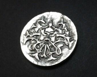 Rustic Harvest Moon Silver Token