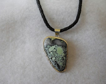 Mystic Sage Turquoise Pendant