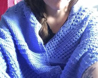 4 Seasons Shawl Wrap Knitting Pattern PDF ONLY