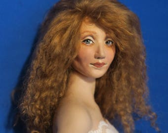 Jacqueline 23 OOAK Head Adapted for Phicen Bodies.