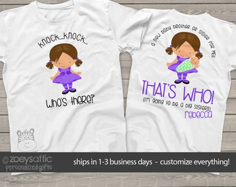 big sister shirt  - I'm going to be a big sister pregnancy announcement tshirt MGRL-020