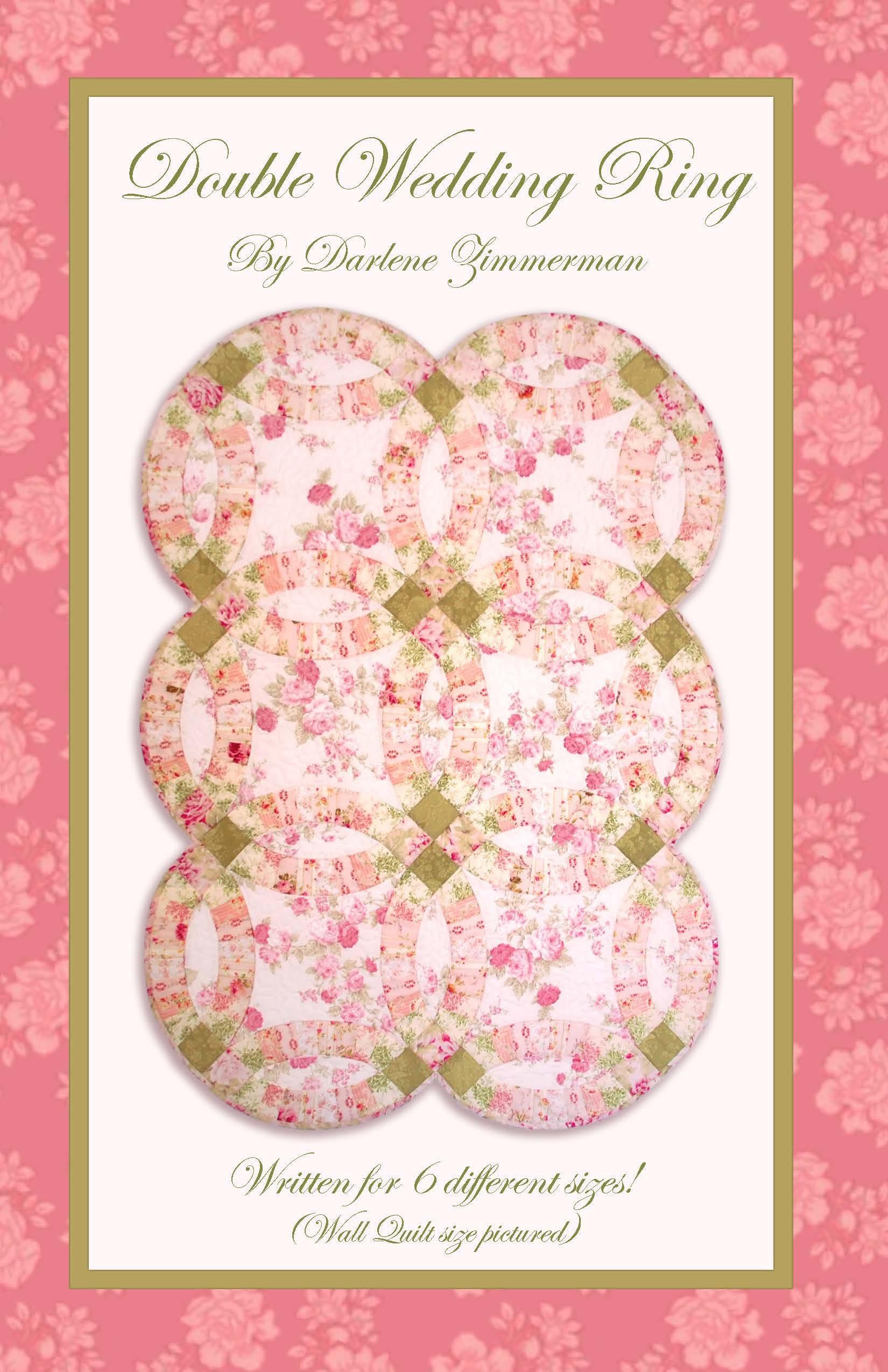 Double Wedding Ring quilt patttern by Darlene Zimmerman 6