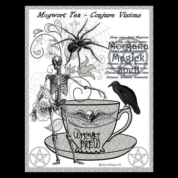 Mugwort Tea - Conjure Visions Recipe