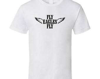 Cool Wings Fly Fly Philadelphia Football T Shirt