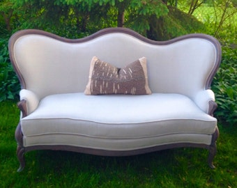 French Antique Sofa  SPRING SALE