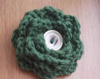 Flower brooch, crochet flower, brooch, crochet, handmade brooch, crochet accessories, flowers, handmade flower, brooch corsage, women brooch
