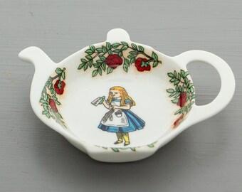 Alice In Wonderland Tea Bag Tidy