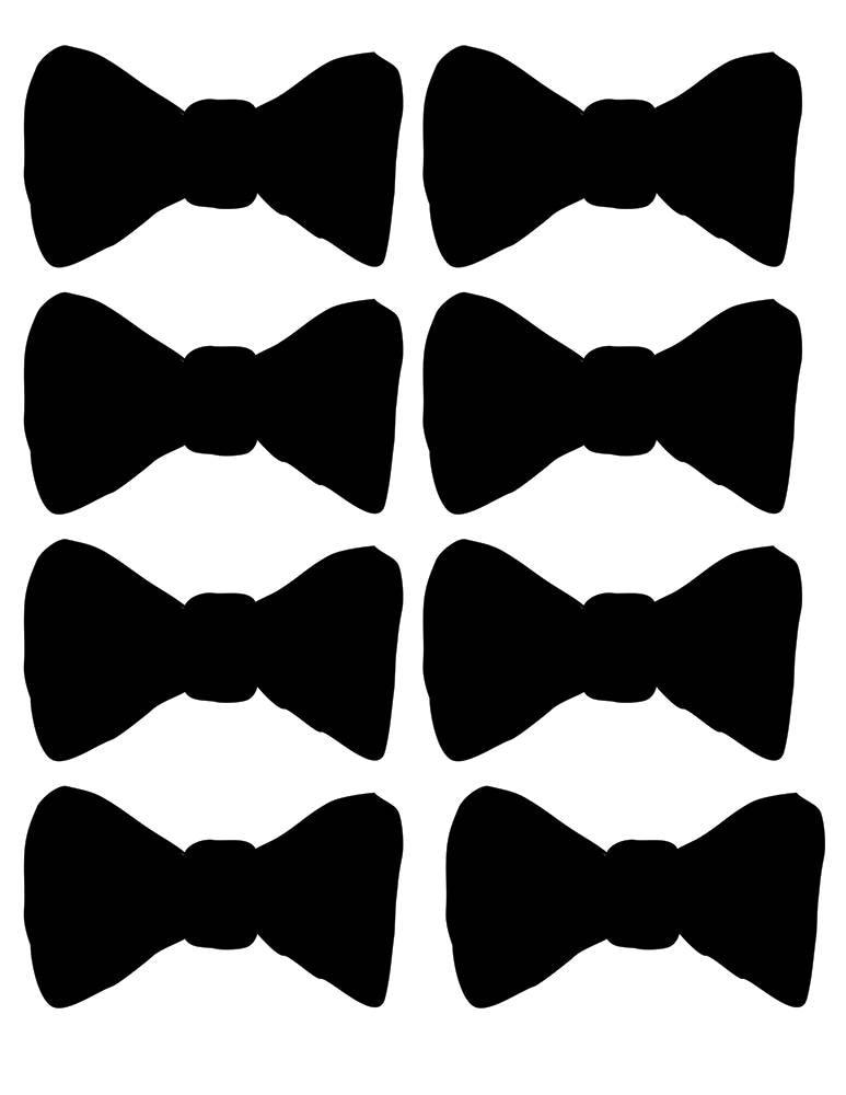 bow tie printable - Yelom.digitalsite.co
