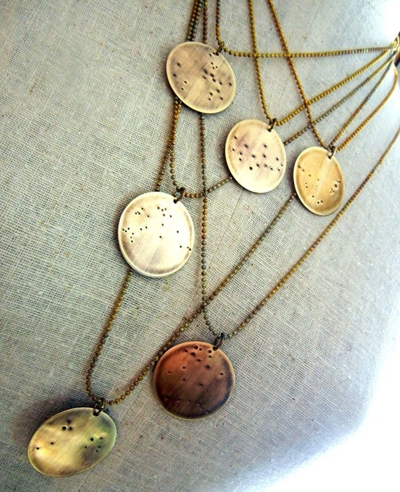 real grande constellation necklace simple libra jewel zodiac seen as candy products in