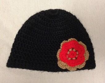 Crochet Kids Head Cap 2-10 Years