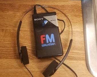 Sony walkman fm radio