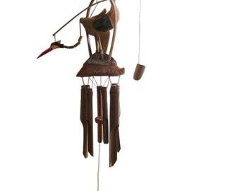 BIRD WINDCHIME Handmade Bird Windchime FREE uk p&p