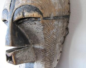 Kifwebe mask from the Congo