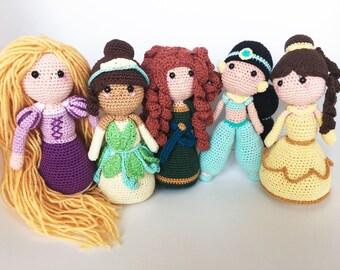 5 pack prinsessen nederlandse haakpatronen
