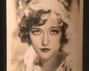 Original 1930s Marion Davies Hollywood Glamour Vintage 8x10 Photo Photograph Black And White Actor Still