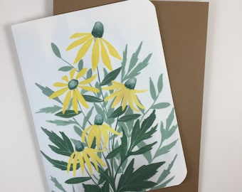Green-headed Coneflower Card