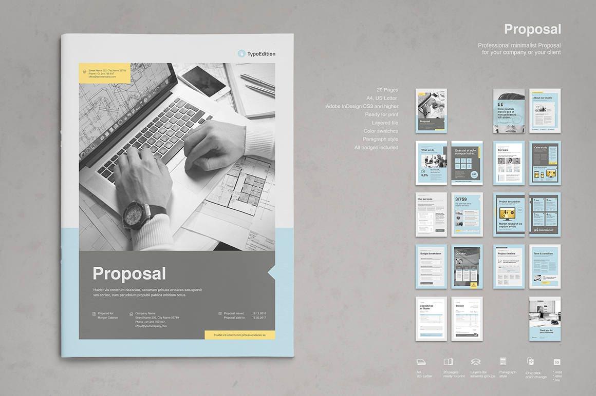 Propuesta plantilla impresión Plantilla de InDesign