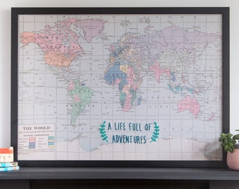 World travel map etsy a gumiabroncs Images