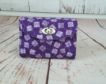 The Necessary Clutch  Mini Cell Phone Wallet Wristlet