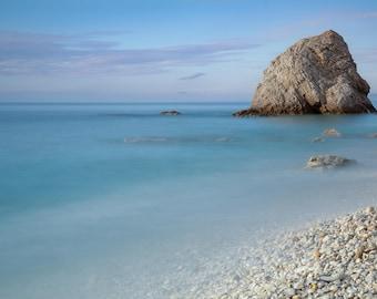 Beach Art Print, Sansone Beach in Elba Island, Tuscany, Art For Nursery, Nature Wall Art, Dreamy Photography, Apartment Decor