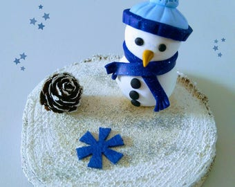 Christmas decoration snowman snow to ask.