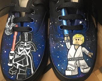 Star Wars LEGO - Hand Painted Shoes