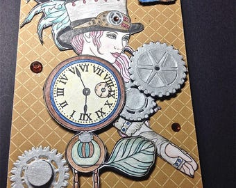Art Card, Collage, Home Decor, Mixed Media