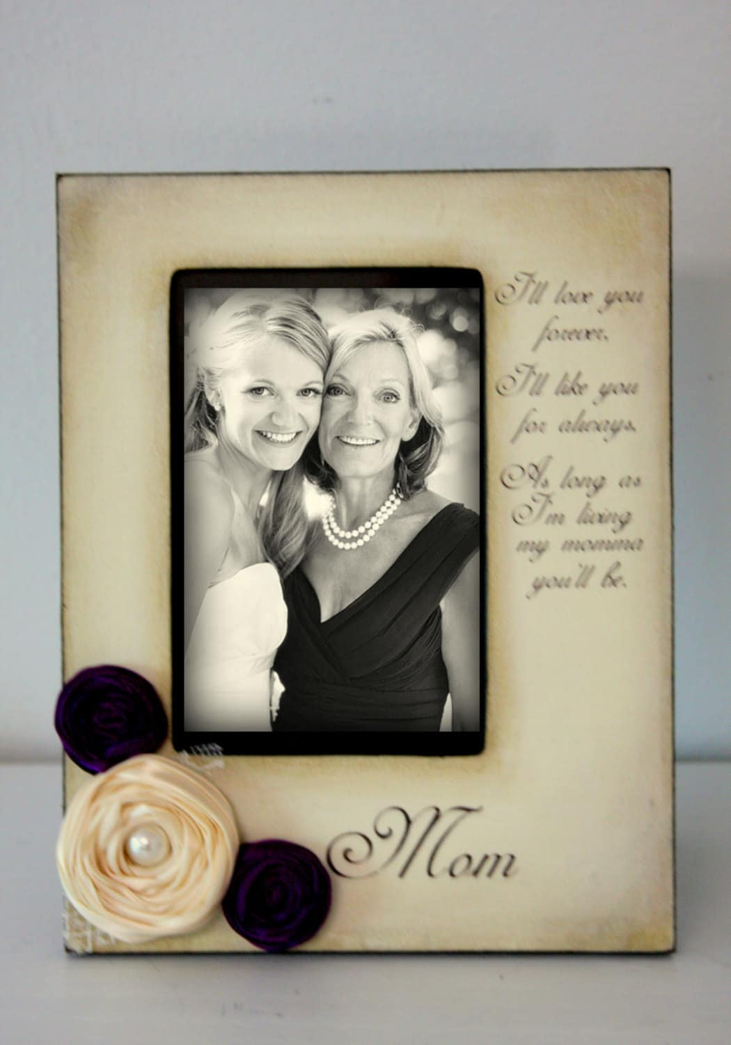 Mom Mother of the Bride Gifts for Mom Wedding gift for mom